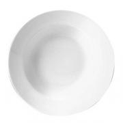 Тарелка для пасты «Монако Вайт»; фарфор; D=24см; белый