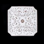 Блюдо квадратное 36см «Романтик»