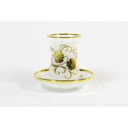 Набор чайный на 6 перс. 12 пред. «Декор 6010 - Цветы»