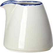 Молочник без ручки «Блю дэппл» фарфор; 85мл; белый, синий
