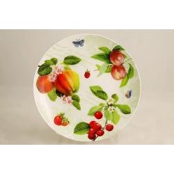 Десертная тарелка «Фруктовый сад» 19 см