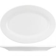 Блюдо овал. «Кунстверк» H=1.8, L=24.6, B=17.1см; белый