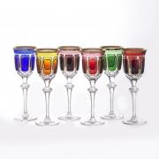 Набор бокалов 220 мл «Арнштадт Антик цветной»