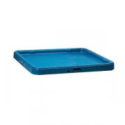 Крышка для контейнера; полипроп.; синий