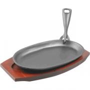 Сковорода для фахитос 24*14см на подставке