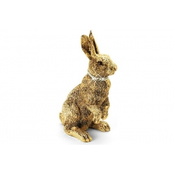 Статуэтка «Кролик» золотая 13 см