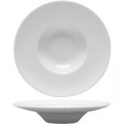 Тарелка для комплимента «Солэр» D=133, H=25мм; белый