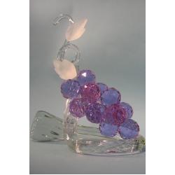 Композиция гроздь винограда лиловая. 37см