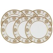 Набор из 6 обеденных тарелок Тиара Голд