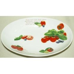 Блюдо овальное (глубокое) «Помидоры» 30х20 см