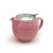 Чайник с ситечком 450мл цвет: Розовый