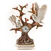 Скульптура «Настольные часы» 38*42см