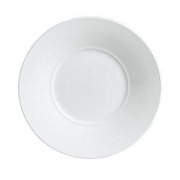 Тарелка мелкая с широк.бортом «Аура», D=20см