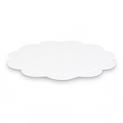 Блюдо фуршетное D=350, H=15мм; белый