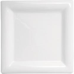 Тарелка квадр.21*21см фарфор