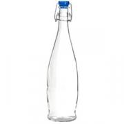 Бутылка; стекло; 1л; прозр.