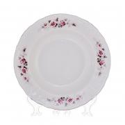Набор глубоких тарелок 23см.6шт «Роза серая платина 5396021»