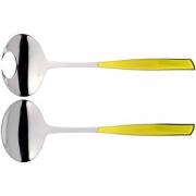 Набор для салата Casa Bugatti Glamour длина26см (жёлтый)