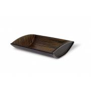 Сервировочная корзина для хлеба Legnoart 30 x 21 x 7см (черный)