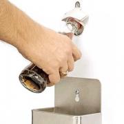 Открывалка для бутылок настенная; H=240,L=135,B=80мм