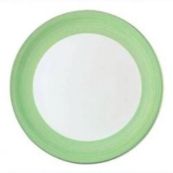 Тарелка «Рио грин» d=31.5см фарфор