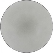 Тарелка мелкая «Экинокс» D=28, H=3.3см; серый