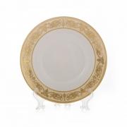 Набор глубоких тарелок 23 см. 6 шт «Александрия Крем/зол»