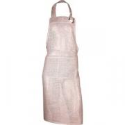 Фартук с грудкой и карманом «Хесайн» лен натуральный
