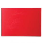 Доска раздел. 60*40*1.8см красная пласт.