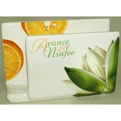 Салфетница «Апельсины и кувшинки»