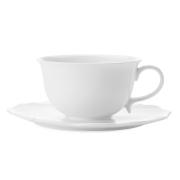 Чашка с блюдцем Белая роза без инд.упаковки