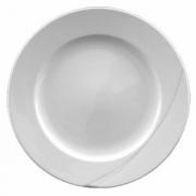 Тарелка мелкая «Атлантис», фарфор, D=245,H=18мм, белый