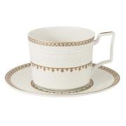 Чашка с блюдцем Золотой замок