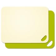 Набор из двух разделочных досок Lurch 38 x 29см бежевый/зеленый