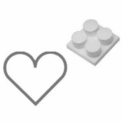 Экстрактор для конд. формы «Сердце»