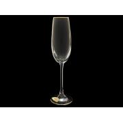 Бокал для шампанского Эсприт Золотая отводка (набор 6 шт.)