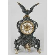 Часы с орлом синий 34х18 см.