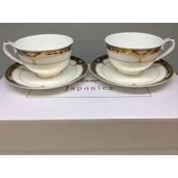 Набор чашек на 2 персоны «Дворцовый Кобальт»