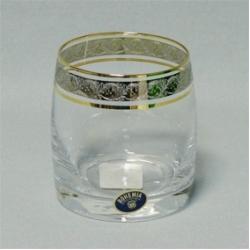 Набор стаканов 1/6 «Идеал» 290 мл; виски; панто платина