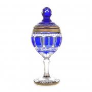 Ваза для конфет 36 см «Арнштадт Антик синий»