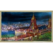 Москва старая, 90х50 см, 5442 кристаллов