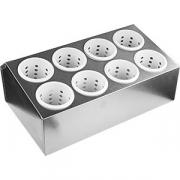 Емкость для столовых приборов(8 отд. ) металл