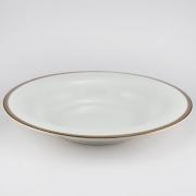 Набор 6 тарелок суповых 23см «Золотая вышивка»
