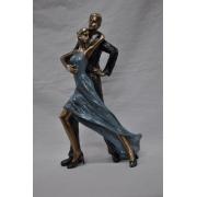 Статуэтка 16х7,5х28 см Танцующая пара
