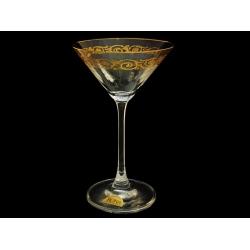 Бокал для мартини Золотая коллекция, тонкое золото