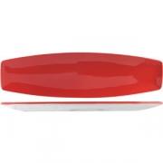 Блюдо «Фиренза ред» 35.5*10см фарфор