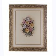 Картина 67x54x8 см. «Цветы»