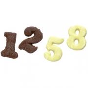 Форма для шоколада от 0 до 9 «Цифры», пластик, L=45,B=185мм, прозр.
