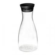 Графин с крышкой стекло, силикон; 1000мл; прозр. ,черный