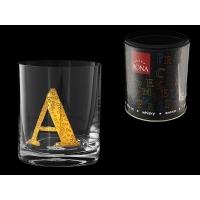 Стакан для виски (1 шт) Азбука Буква «A»